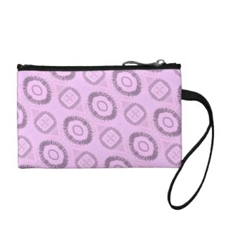 Pink Painted Gypsy Medallion - Quaraun CosPlay Coin Wallet