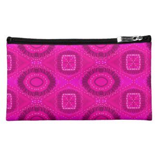 Pink Painted Gypsy Medallion - Quaraun CosPlay Makeup Bag