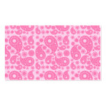 Pink Paisley. Business Cards