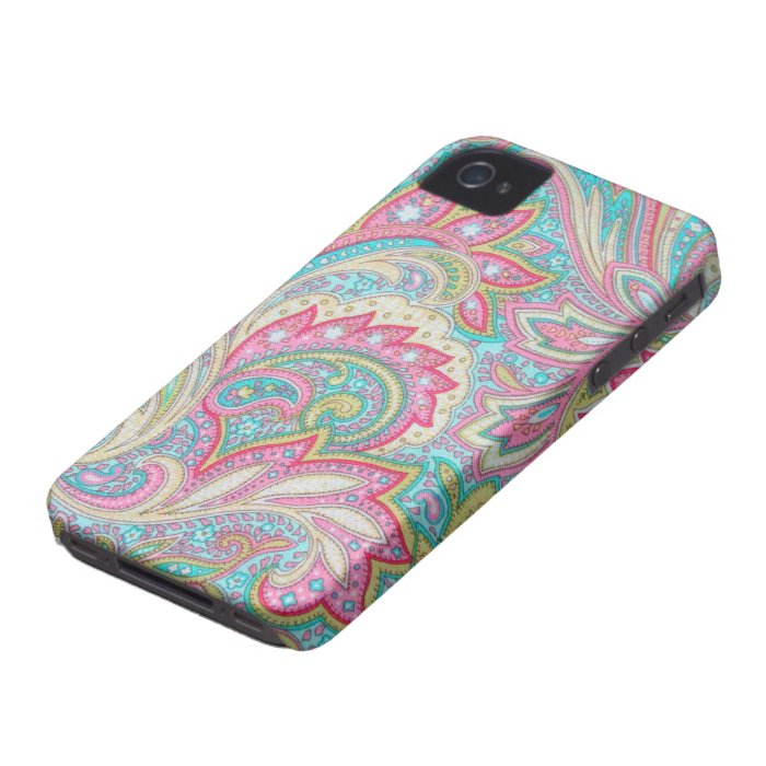 Pink Paisley Case-Mate iPhone 4 iPhone 4 Cover