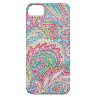 Pink Paisley Case-Mate iPhone 5 Iphone 5 Case