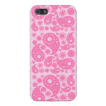 Pink Paisley. Covers For iPhone 5
