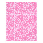 Pink Paisley. Flyer Design