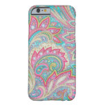 Pink Paisley iPhone 6 case