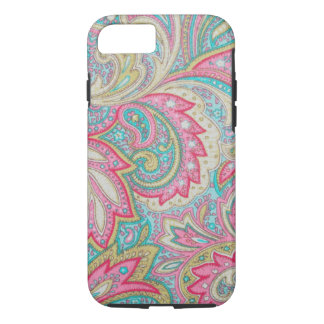 Pink Paisley iPhone 7 Case