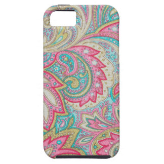 Pink Paisley iPhone SE/5/5s Case