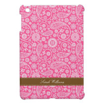 Pink Paisley Pattern iPad Mini Case