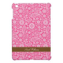 Pink Paisley Pattern iPad Mini Cover