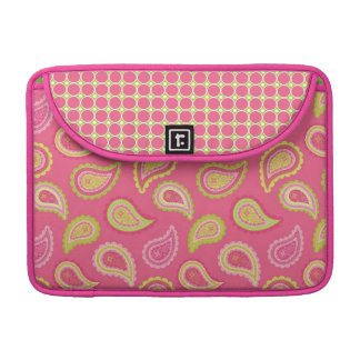 Pink Paisley Sleeve for MacBooks