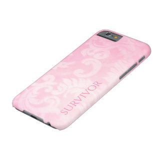 Pink Paisley Survivor Barely There Case