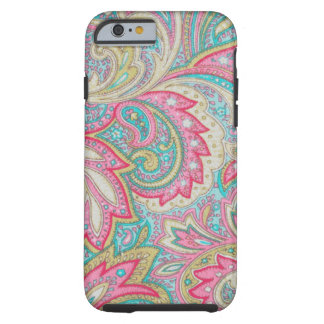 Pink Paisley Tough iPhone 6 Case