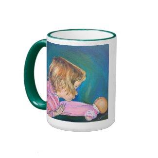 Pink Pajamas Mug mug
