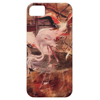 Pink Palace Ibis in the Vesinet by Giovanni Boldin iPhone SE/5/5s Case
