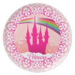 Pink Palace Princess Plate