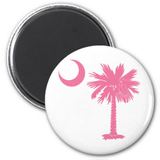 Pink Palmetto Magnets