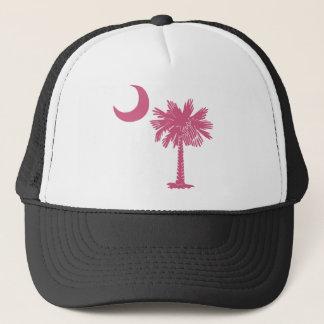Pink Palmetto Moon Trucker Hat