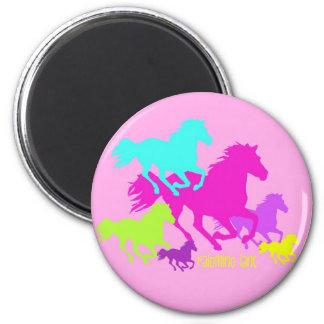 pink palomino lane refrigerator magnet