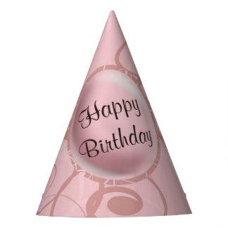 Pink Panda Birthday Party Hat