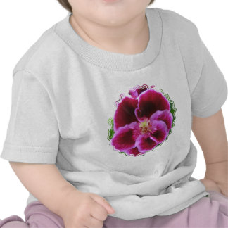 Pink Pansy Baby T-Shirt