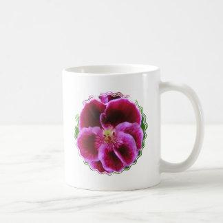 Pink Pansy Coffee Mug