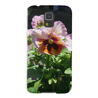 Pink Pansy Galaxy S5 Case