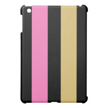 PINK PANSY ISTRIPES TEMS iPad MINI COVER