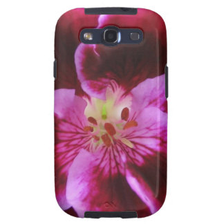 Pink Pansy Samsung Galaxy Case Samsung Galaxy S3 Cover