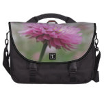 Pink Paper Daisy Flower Laptop Bags