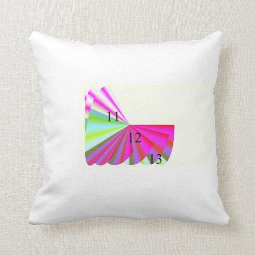 Pink Paradise 11-12-13 Throw Pillow