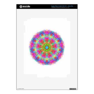 Pink Paradise Mandala Design iPad 3 Skins