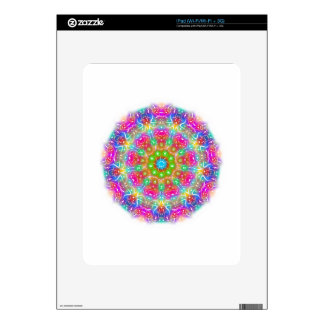 Pink Paradise Mandala Design iPad Decals