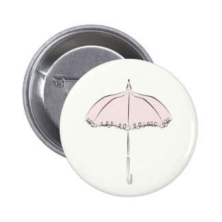 Pink Parasol Buttons