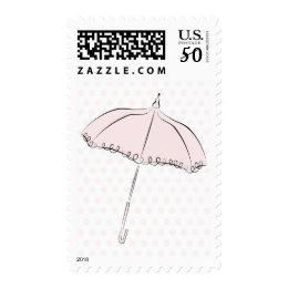 Pink Parasol Postage