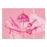 Pink Parasols Cards