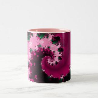Pink Parfait Two-Tone Coffee Mug