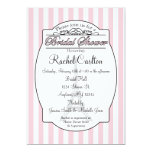 "Pink Paris Bridal Shower Invitation 5"" X 7"" Invitation Card"