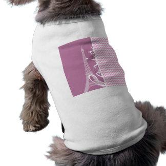 Pink Paris Chevron Shirt
