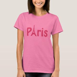 Pink Paris Logo T-Shirt