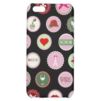 Pink Paris love girly pattern iPhone 5C Case
