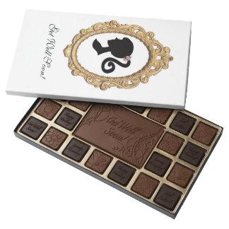 Pink Paris Silhouette 45 Piece Box Of Chocolates