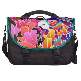 Pink Parrot - Rickshaw Commuter Laptop Bag