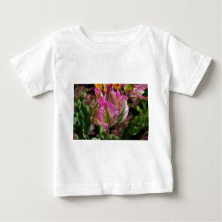 Pink Parrot Tulip Baby T-Shirt