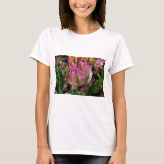 Pink Parrot Tulip T-Shirt