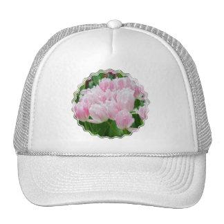 Pink Parrot Tulips Baseball Hat