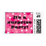 Pink Party Stamps