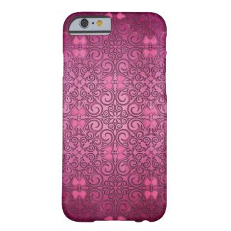 Pink Passion Fantasy Floral Cover Barely There iPhone 6 Case