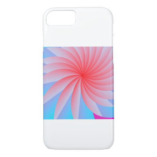 Pink  Passion Flower iPhone 7 Case