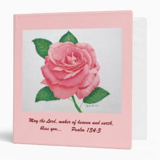 Pink Passion Inspirational Avery Binder