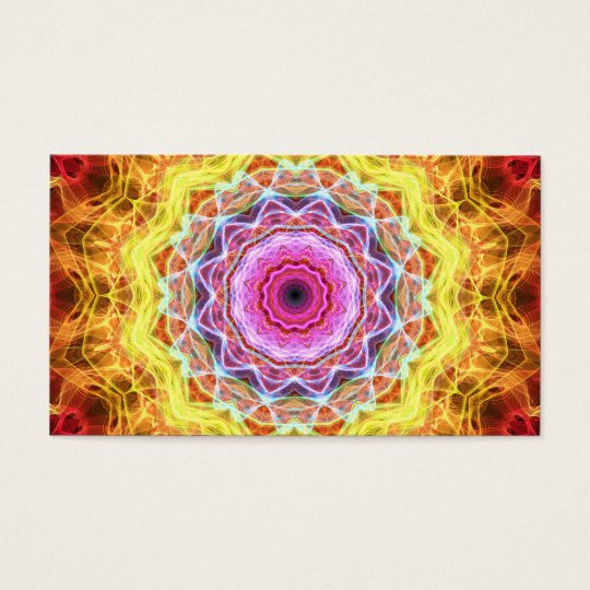 Pink Passion  kaleidoscope Business Card