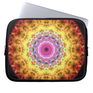 Pink Passion  kaleidoscope Computer Sleeve